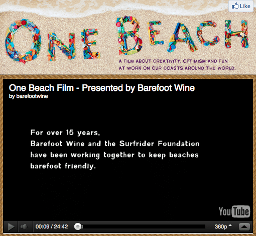 Check out this great movie presented by the Barefoot Wine and Bubbly Team