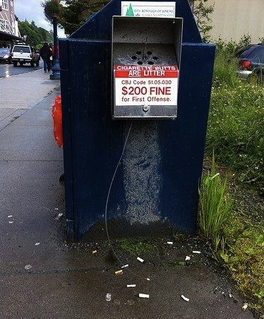 Cigarette Butts are Litter