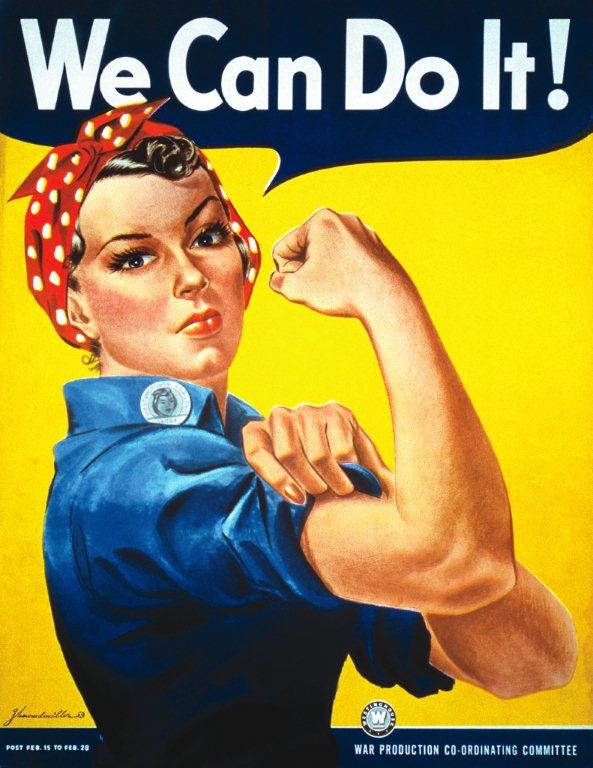 We Lived with Rosie the Riveter!