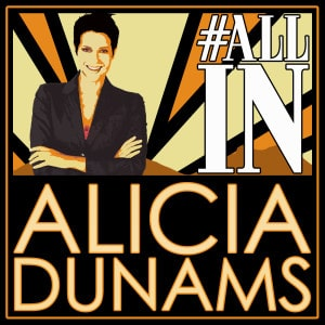 "Alicia Dunams ""All In"" Interview"