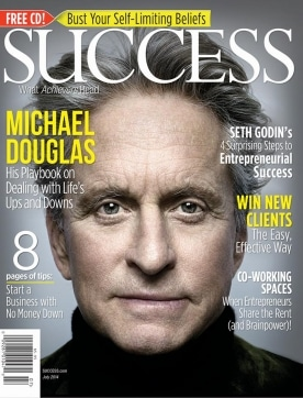 July 2014 Michael Douglas SUCCESS