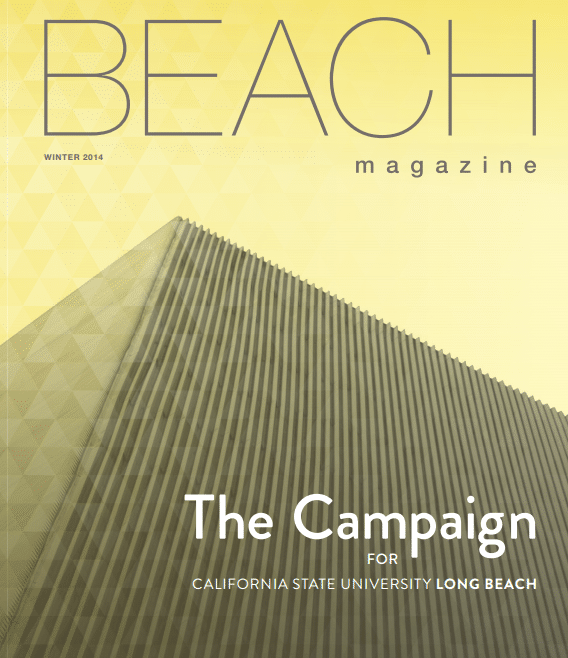 CSULB Beach Magazine – Footprints for Success