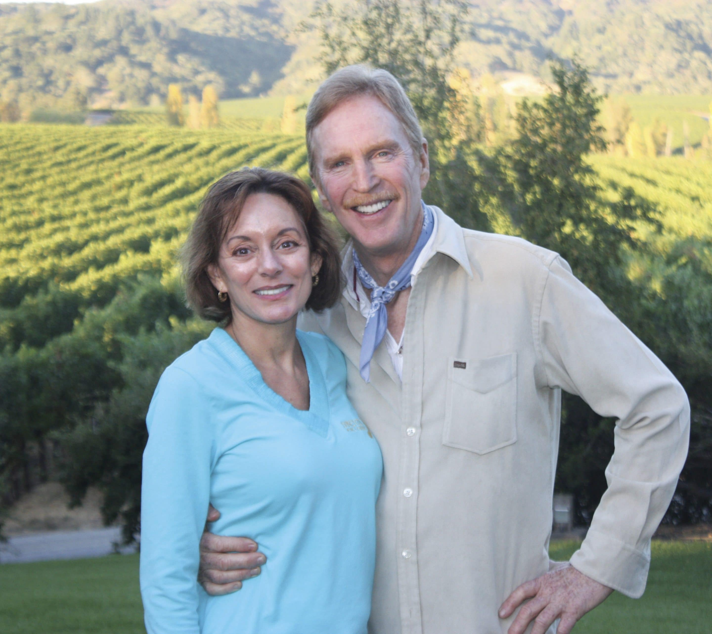 Michael & Bonnie - Vineyard (3199px X 2848px)