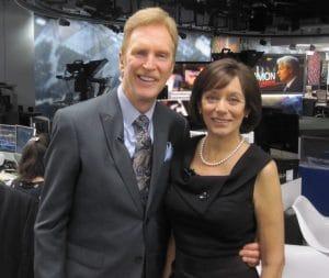 Michael & Bonnie at Bloomberg
