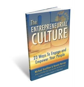 The Entrepreneurial Culture 3-D Book Image with Shadow