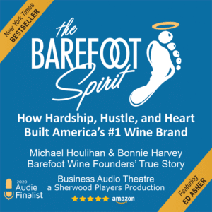 The Barefoot Spirit is an Audie Finalist!